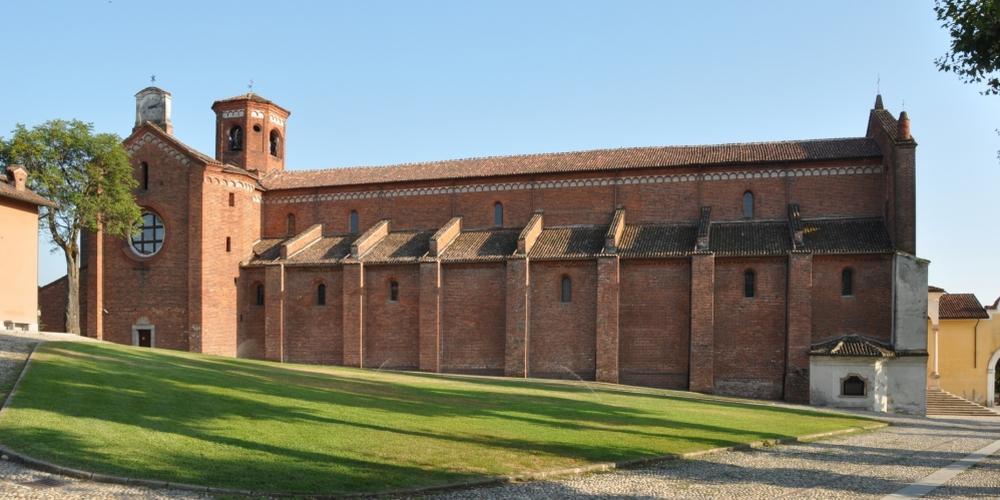prospetto nord della chiesa abbaziale